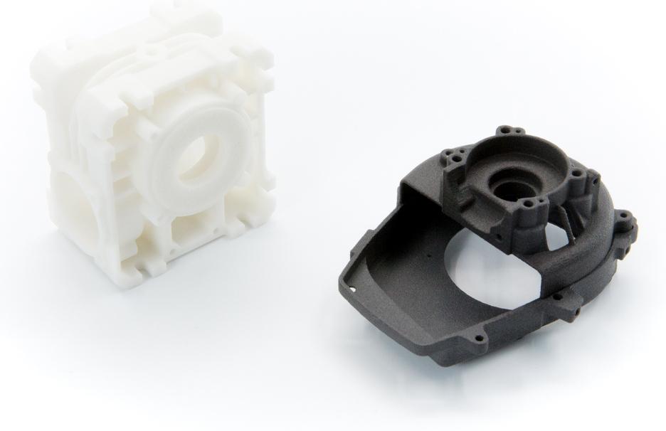 SLS Nylon PA12 3D Printing Services
