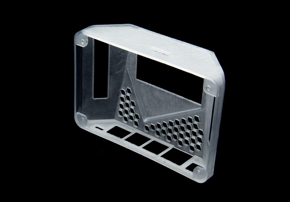 SLA Translucent 3D Printing
