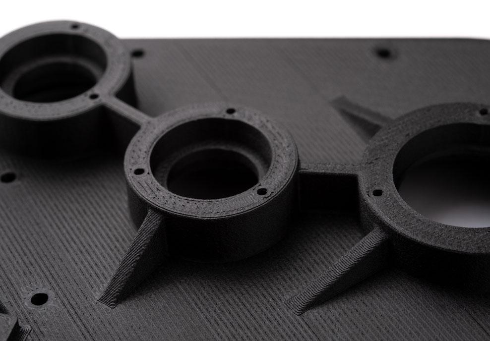 FDM 3D Printing Close Up